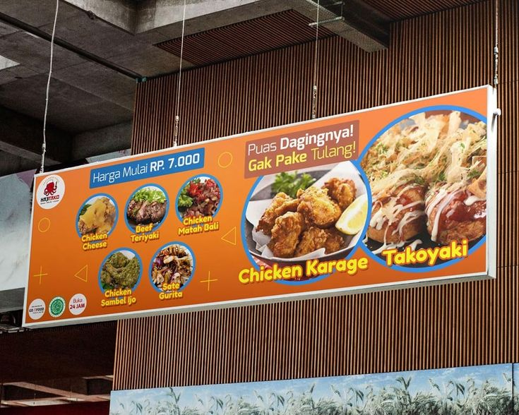 Contoh Banner Menu Makanan in 2020 Best banner design