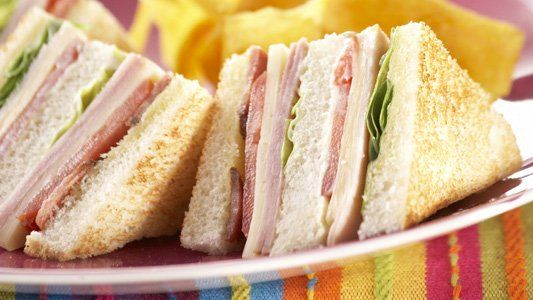 Club Sandwich Clásico   Alpina Colombia   Recetas, Nutrición y Derivados Lácteos.