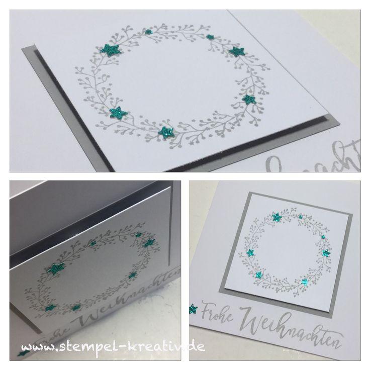 35 best weihnachtskarten christmas cards images on - Weihnachtskarten kreativ ...