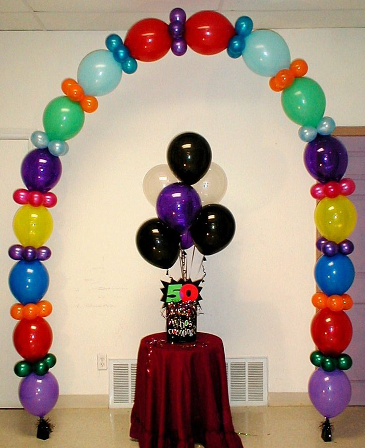 I love Link-o-loon Balloon Arches. So much can be created with these amazing balloons!