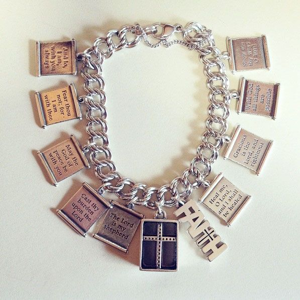 This James Avery customer has been collecting retired and active Scroll Charms for two years. #jamesavery