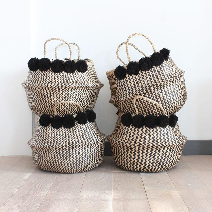 les 25 meilleures id es de la cat gorie panier osier rangement sur pinterest rangement osier. Black Bedroom Furniture Sets. Home Design Ideas