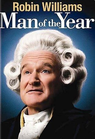Man of the Year is a 2006 American political thriller film directed and written by Barry Levinson, produced by James G. Robinson, and starring Robin Williams. The film also features Christopher Walken, Laura Linney, Lewis Black, and Jeff Goldblum. In the film Williams portrays Tom Dobbs, the host of a comedy/political talk show, based loosely on the real-life persona of Jon Stewart.