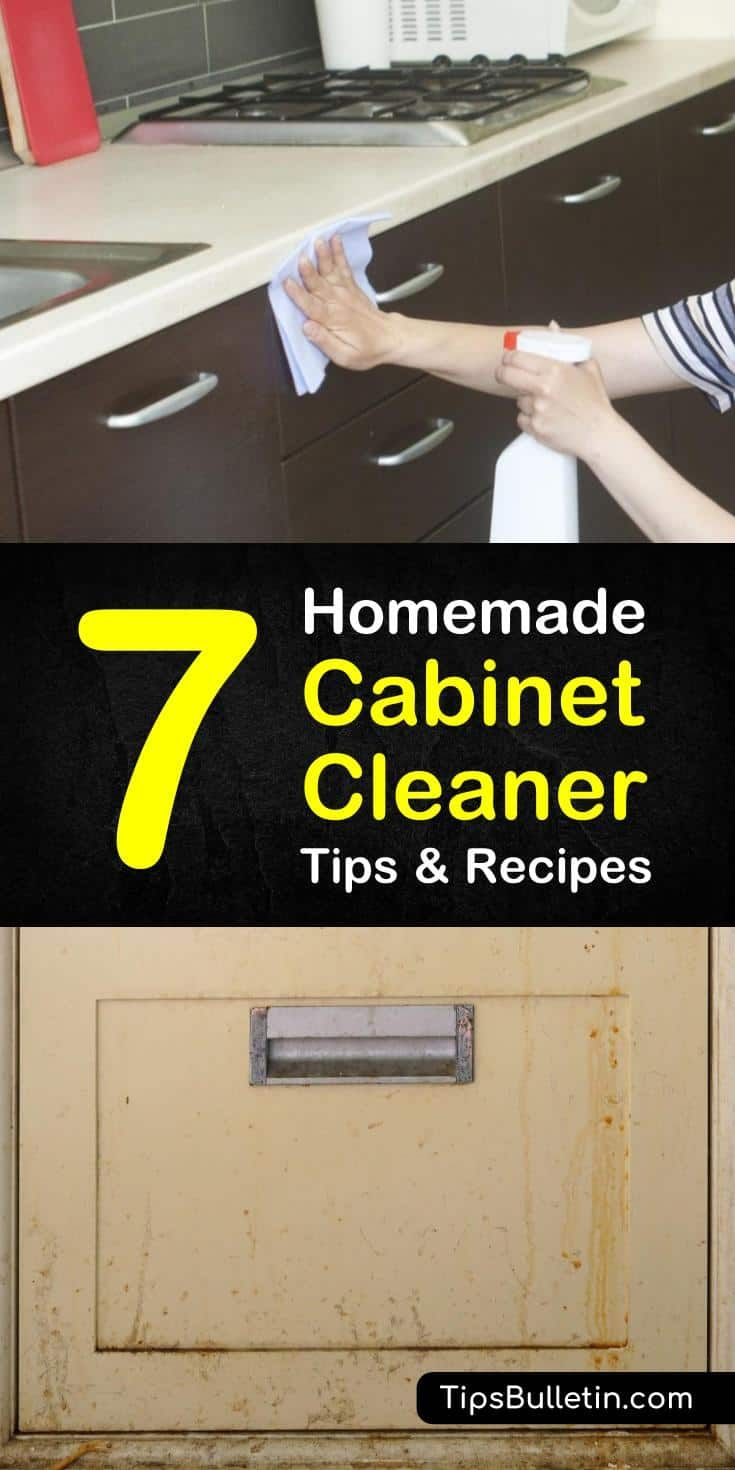 Homemade Cabinet Cleaner Recipes 7 Diy Tips For Cleaning Cabinets