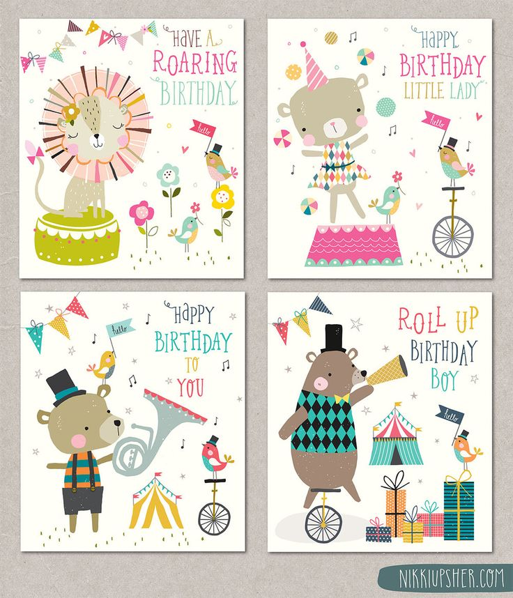 I'm really busy with work at the moment...which is a GREAT! This is the first quieter day for a while,,,so I thought I would post some of my older work. Here's a range of children's greeting card's I designed last year.