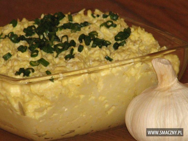 Pasta serowa z jajkiem