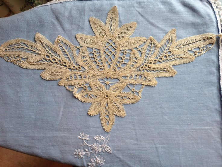 A personal favourite from my Etsy shop https://www.etsy.com/uk/listing/206243917/antique-victorian-lace-hand-made-linen