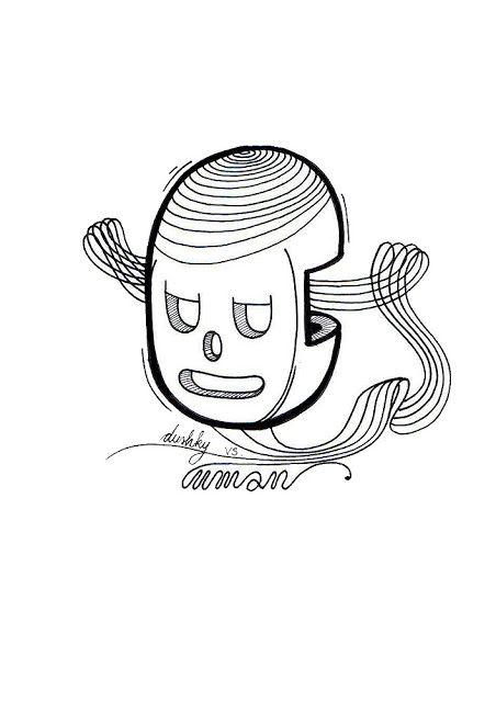 llustration by #dushky | #illustration #art #drawing #design #sticker #uman #umanshop #lmusic #logo