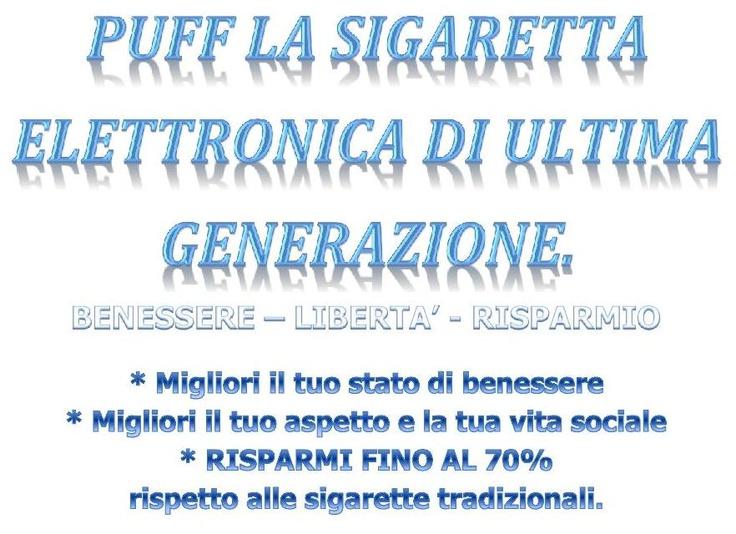 Puff sigaretta elettronica a trieste