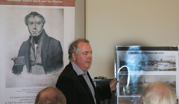 They spent countless hours reading through Alexander's diaries, better known as The Spark Diaries, which are housed in the State Library of New South Wales.  This spurred extensive research across the globe revealing Alexander's strong connection with London's Royal Blackheath Golf Club and the start of golf in Grose Farm.