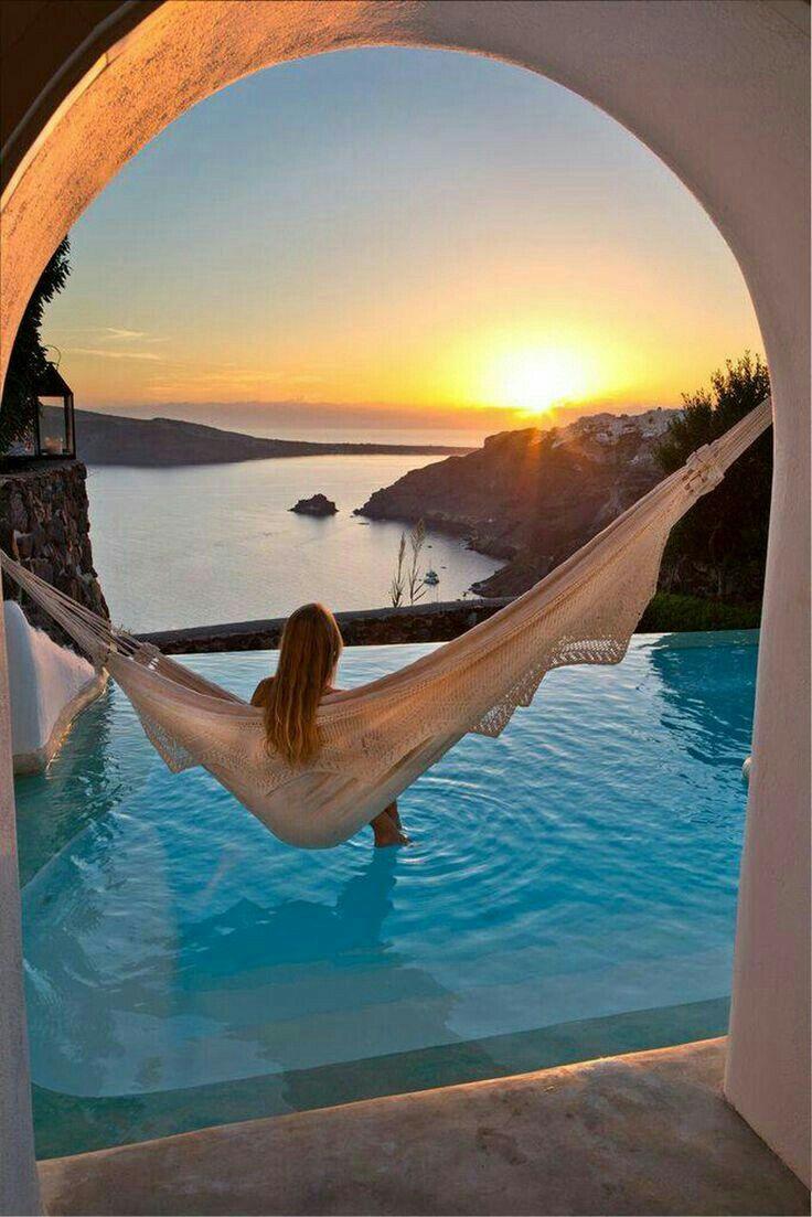 Perivolos - Santorini, Greece. Perivolas Hotel.