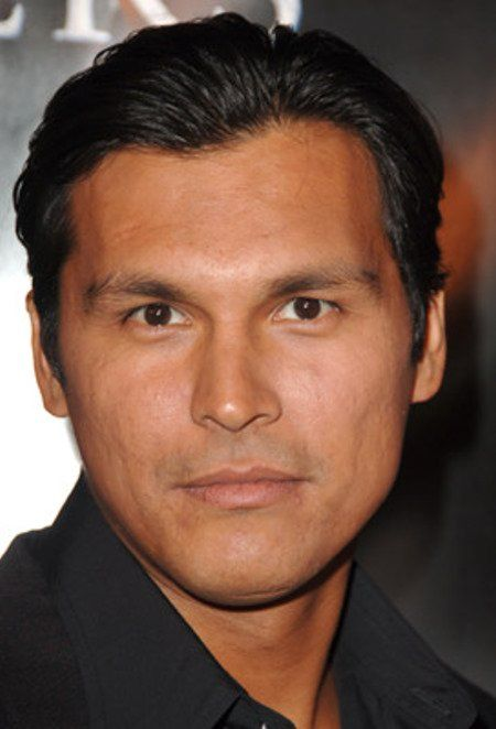 Adam Beach.  Canadian Saulteaux actor from Ashern, Manitoba