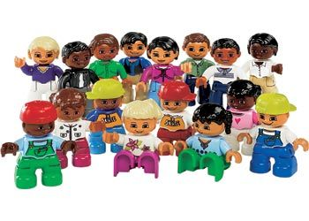 LEGO DUPLO World People Set. This super set is an ideal supplement to any DUPLO.
