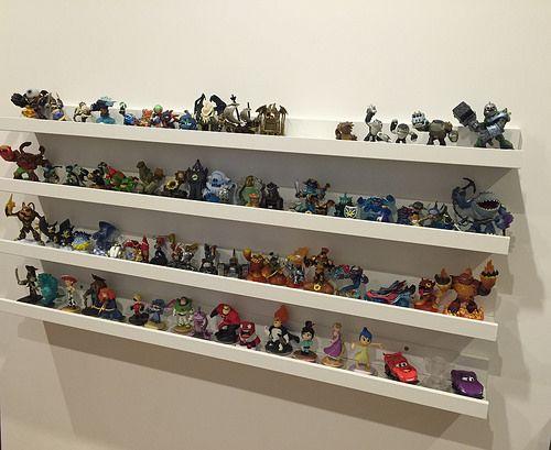 Playroom Wall Shelves