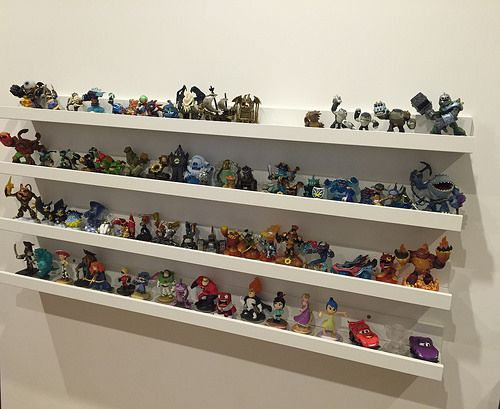 Great Way To Display Skylander And Disney Infinity Toy