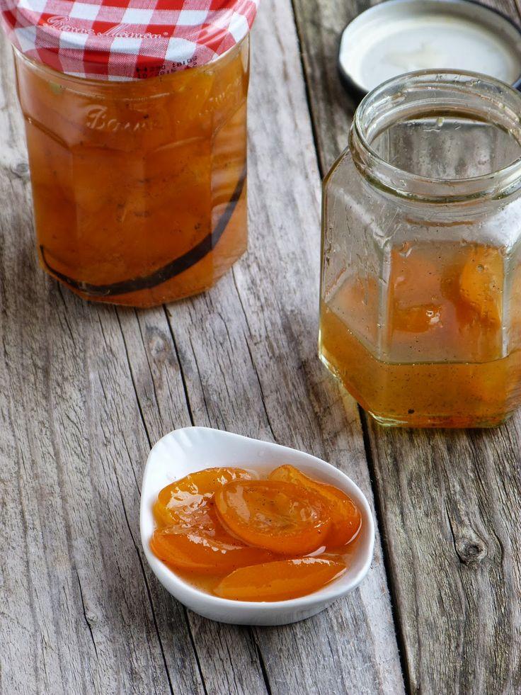 Spéciale agrumes #4: confiture de kumquats vanillée