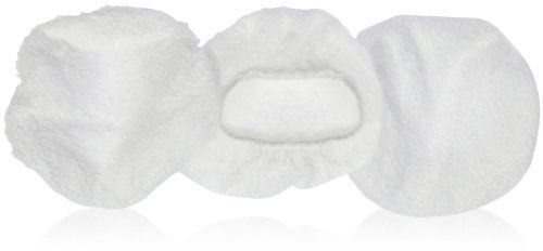 "BelleCore babyBelle Replacement Bonnets-3 ct by BelleCore. $15.00. Package of three rich white terrycloth bonnets 4"" for babyBelle TM bodybuffer."