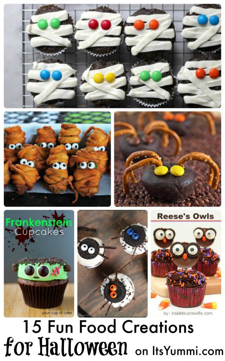 15 Fun Food Creations for Halloween - see the spooky fun collection on ItsYummi.com