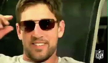 New party member! Tags: football nfl summer deal with it sunglasses green bay packers packers deal aaron rodgers summertime rodgers gb packers ar12