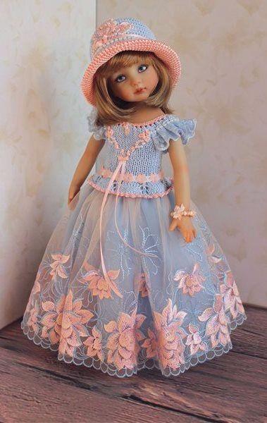 Шикарные наряды, парички Моник для каешек и малышек МСД, СД. / Все для БЖД / Шопик. Продать купить куклу / Бэйбики. Куклы фото. Одежда для кукол