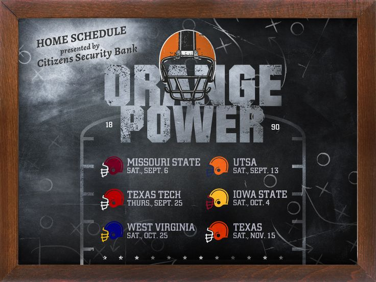 OSU 2014 Home Game Schedule - Content marketing example from BlueView Agency for Citizens Security Bank