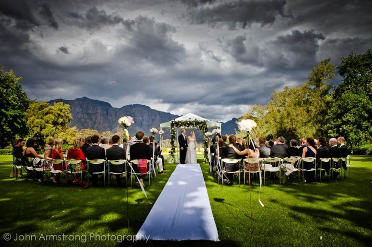 wedding winelands South Africa