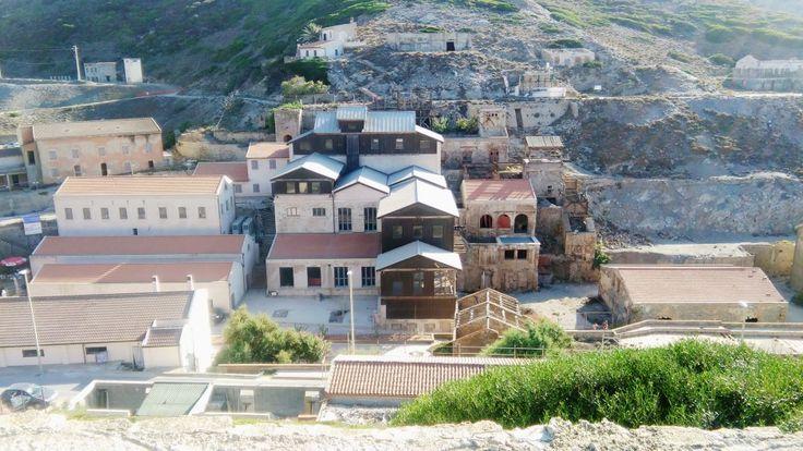 Il villaggio abbandonato dell'Argentiera