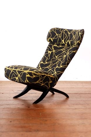 Theo Ruth; 'Congo' Lounge Chair for Artifort, 1950s.