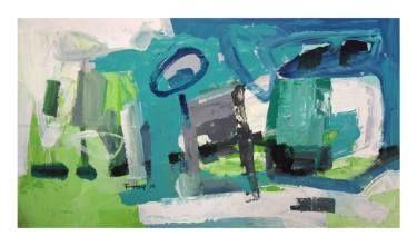 "Saatchi Art Artist Tapas Roy; Painting, ""Summer Afternoon"" #art"