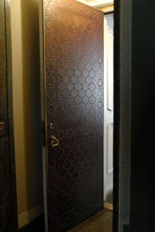 Nail Head Pattern on Leather Door & 62 best door trim and facings images on Pinterest   Doors Door ... Pezcame.Com
