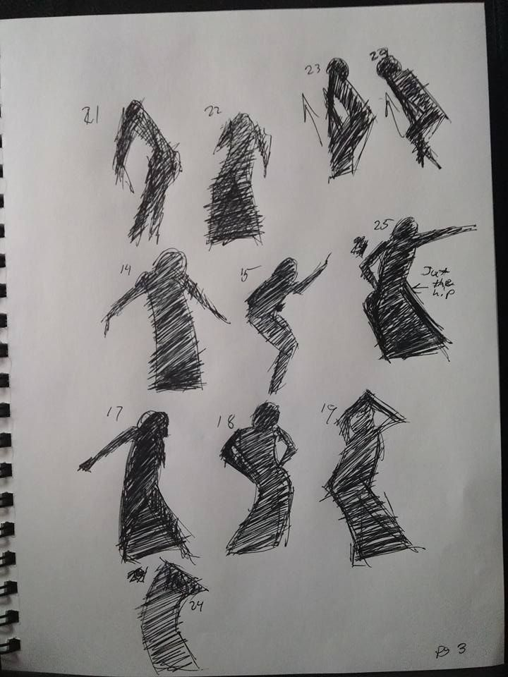 Shape gesture study page 3 of 8