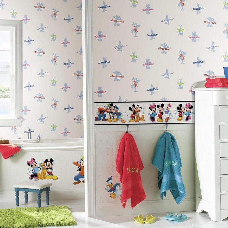 Mickey & Friends Wallpaper Border