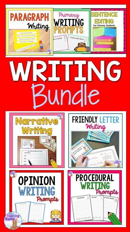 Writing Bundle 2nd3rd Grade Pinterest Procedural Writing
