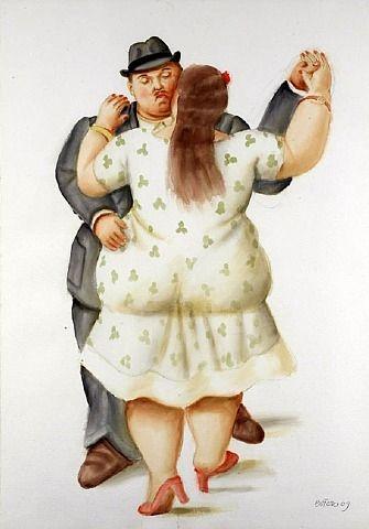 Fernando Botero - Danseurs ۩۞۩۞۩۞۩۞۩۞۩۞۩۞۩۞۩ Gaby Féerie créateur de bijoux à thèmes en modèle unique ; sa.boutique.➜ http://www.alittlemarket.com/boutique/gaby_feerie-132444.html ۩۞۩۞۩۞۩۞۩۞۩۞۩۞۩۞۩