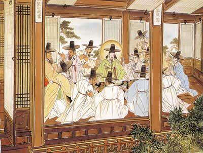 Last Supper. By Woonbo Kim Ki-chan, Korea, 1950s