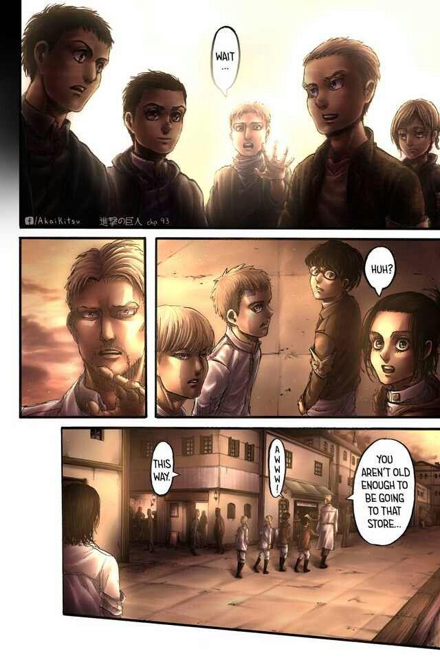 Ch 93 Shingeki No Kyojin Attack On Titan Manga