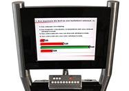 Informatie na dat er gestemd is via de stemkastjes. Het stemsysteem geeft de informatie direct terug of bijvoorbeeld een projectie scherm