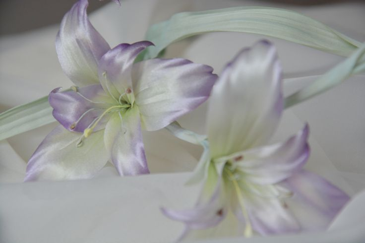 Шелковый цветок Гладиолус, шелковые цветы, украшения для невест, свадебный букет by Roseisle on Etsy