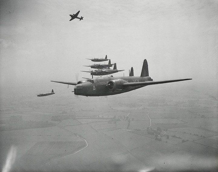 World War II Wellington bombers. c.a 1940