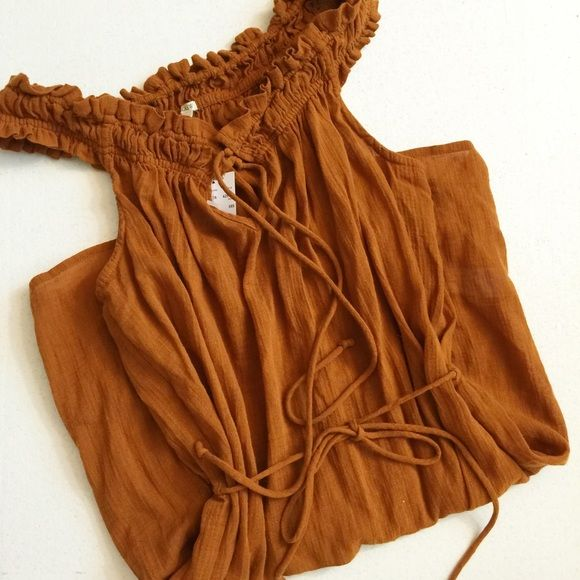 "J crew camel beach dress New with tag. Waist tie. Length:31"" J. Crew Dresses"