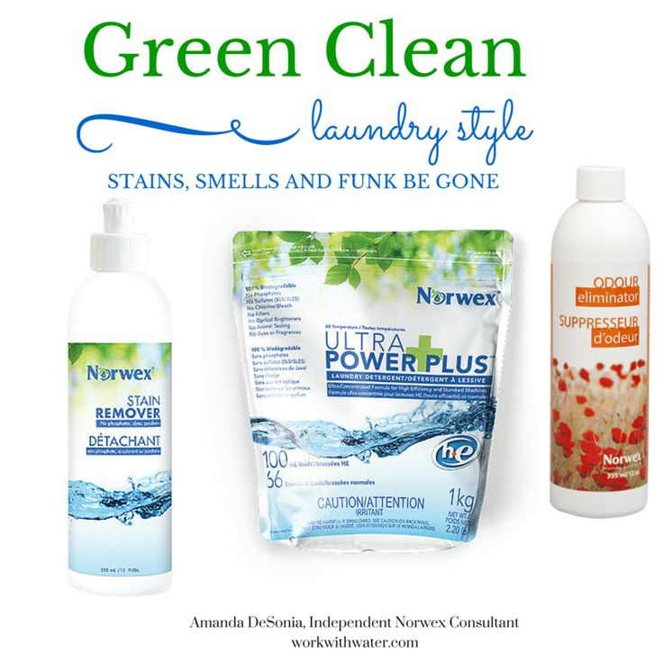 Norwex Cleaning Products: Un-Stink The Smelly And Slay The Stains Without The