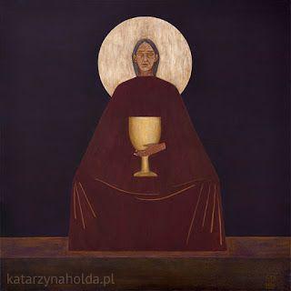 KATARZYNA HOŁDA: PIETA acrylic on canvas, 80cm x 80cm, 2010 in collection   of Lublin Society fot the Encouragement of Fine Arts katarzynaholda.pl