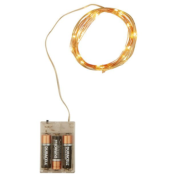 Twinkle Copper String Lights | Target Australia