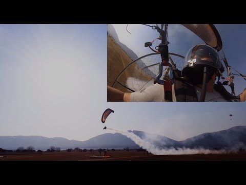 Powered Paragliding Paradise - South Africa - YouTube