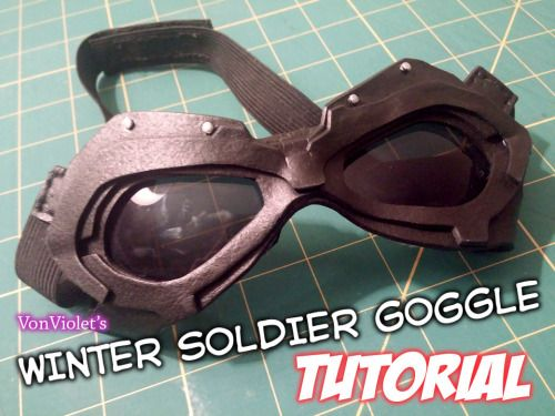Winter Soldier Goggles Tutorial
