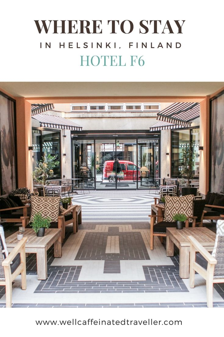 Helsinki Travel Tips | Where to Stay in Helsinki, Finland: Hotel F6 | Helsinki Hotels