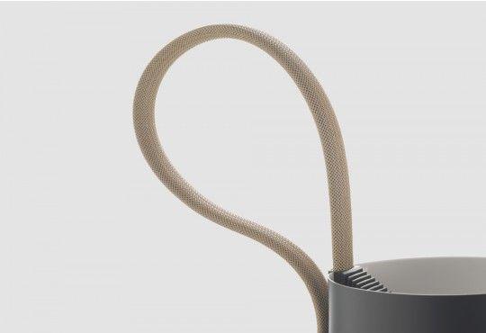 Lampadaire Rope Trick LED Diez, Stefan : Luminaires design Hay - Design Ikonik