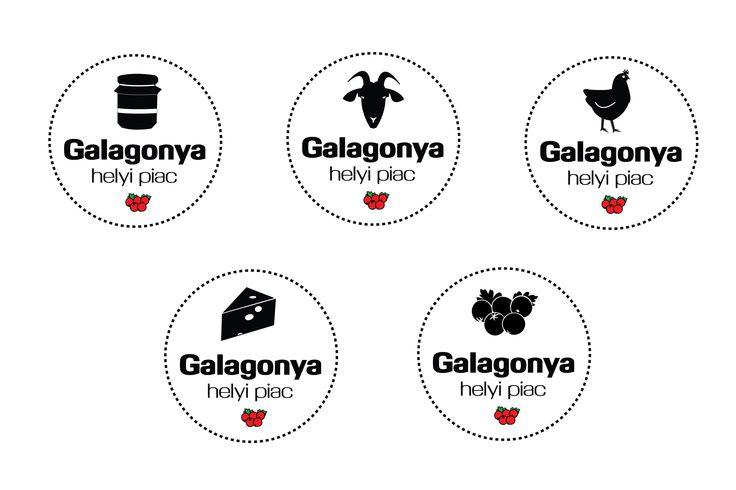 logo különböző termékekre