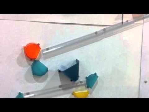Video Wall Coaster Extreme Stunt Set
