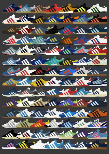 Adidas Cities Series by Peter O'Toole
